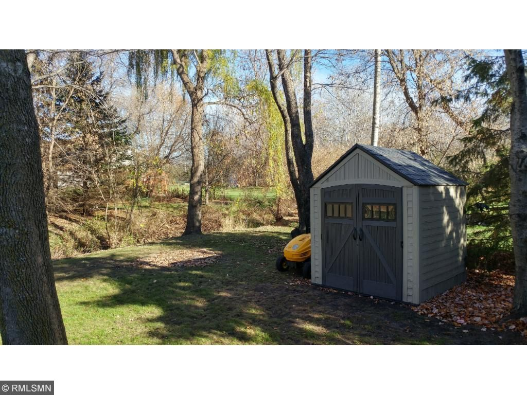 Shed stays with home, bring all your extra tools and toys.