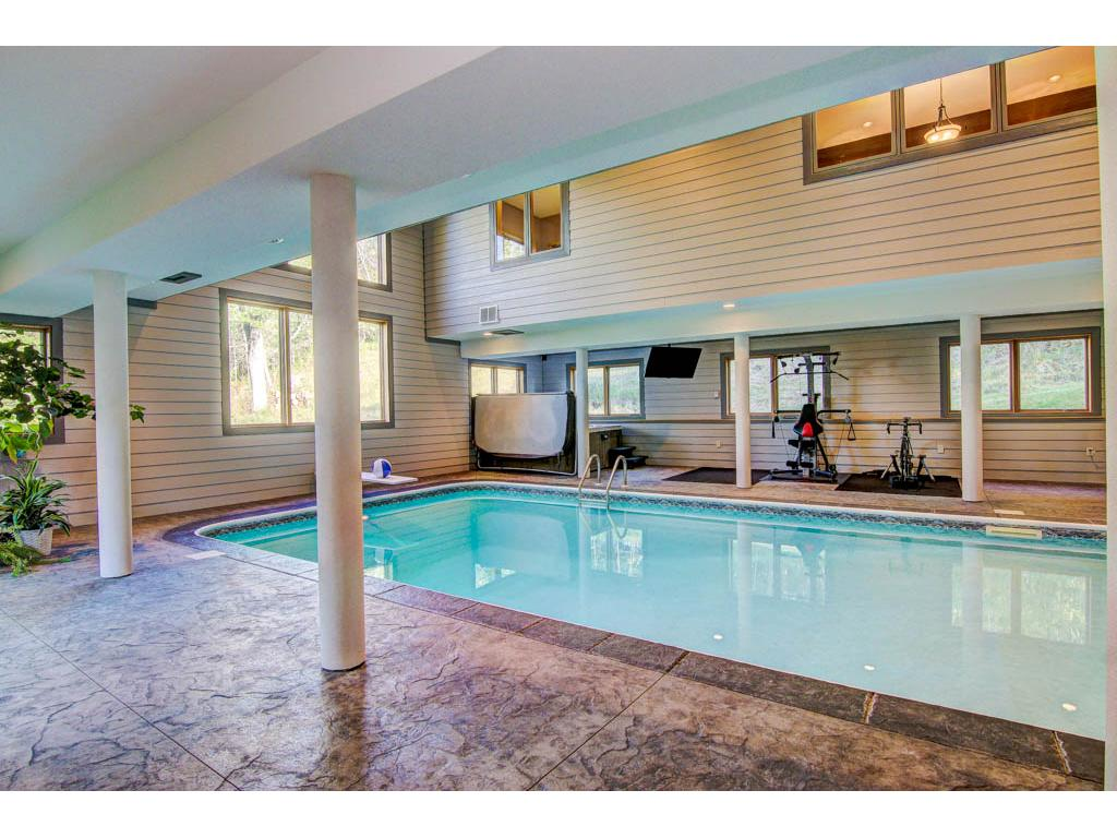 The pool area has radiant in-floor heat. There is an additional laundry area if needed. There is also a 3/4 bathroom in this area. Ask about all the extras in the pool area.