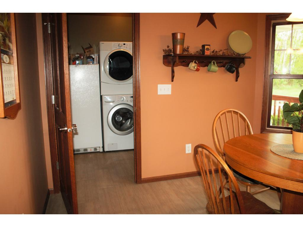 Laundry room on the main floor.