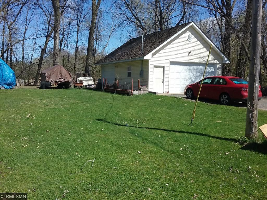 Extra lot with 3 car garage across the street from home!