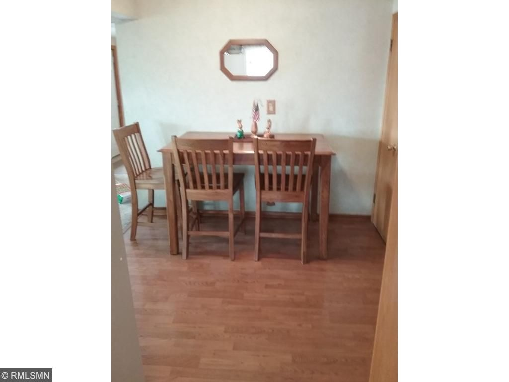 Another view of dining area from kitchen.