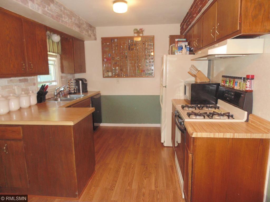 Brand new kitchen floor