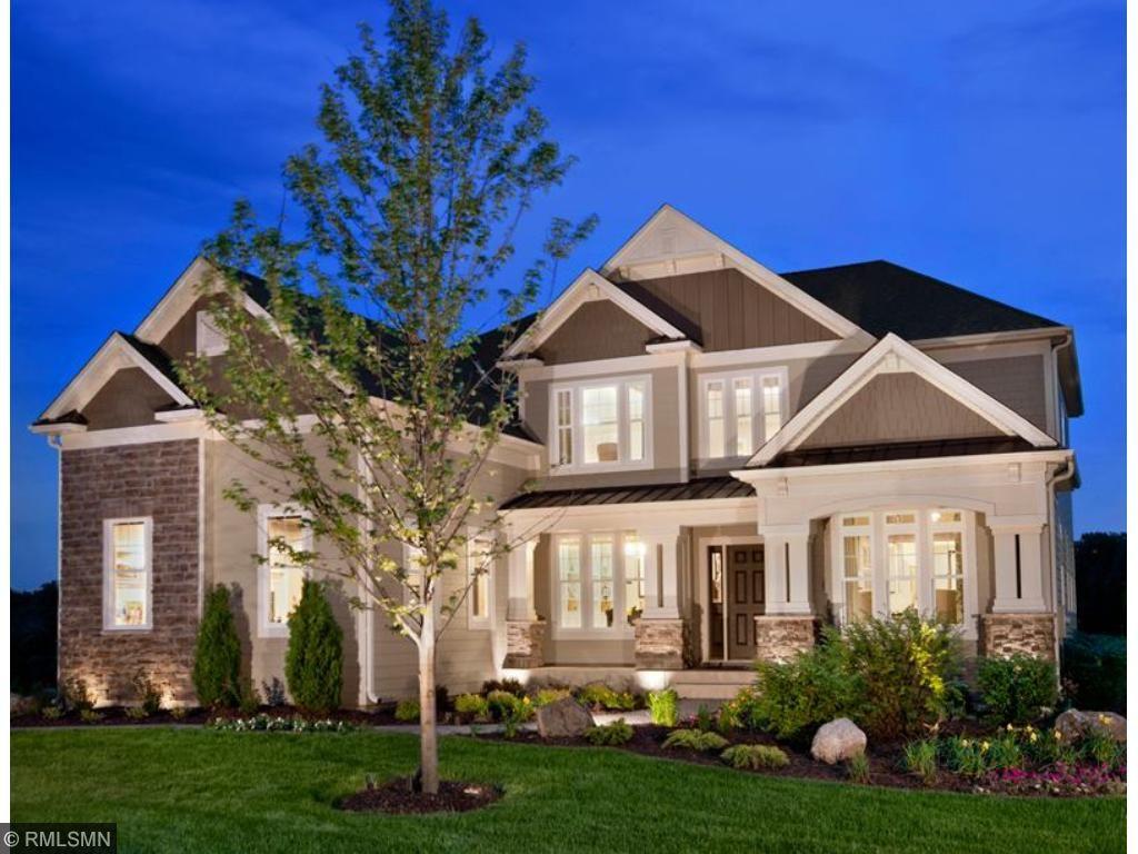Columbia Glenshire, model home
