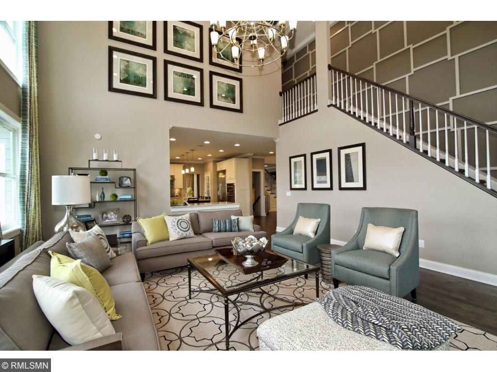 Two story expanded family room