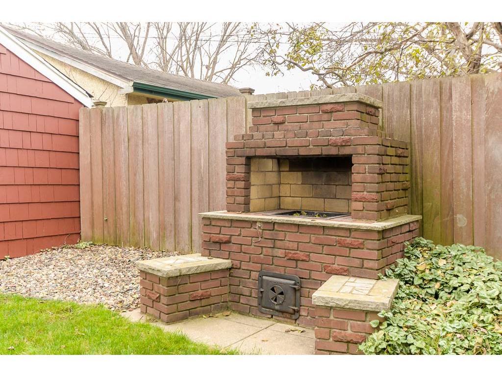 Incredible brick outdoor grill!