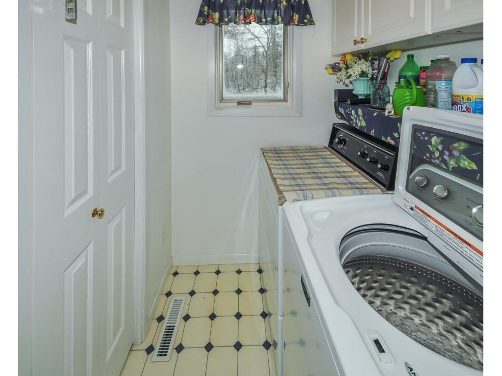 No need to travel the stairs to do laundry as the laundry room is on the same level as the master BR.