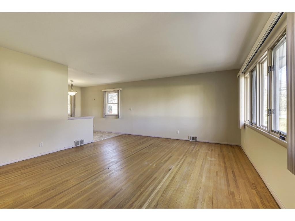 Eating area is open to the living room.  Makes it nice for entertaining or family time.
