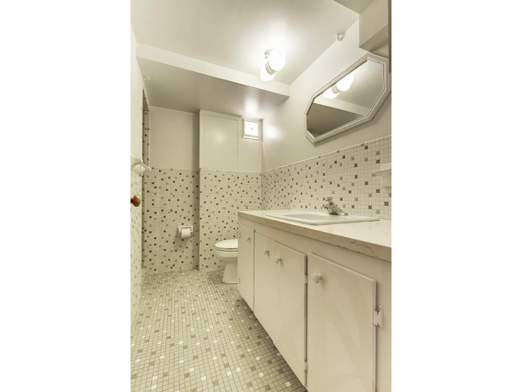 Lower level 3/4 bath.