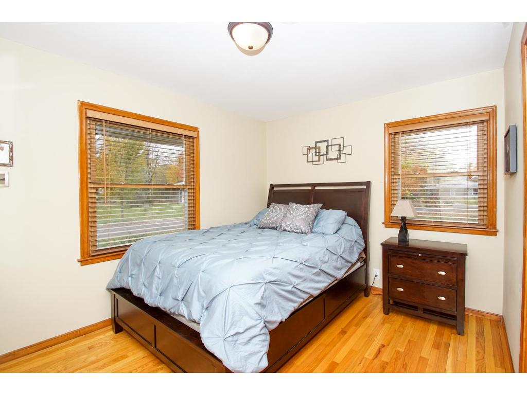 Three great upper level bedrooms with hardwood floors!