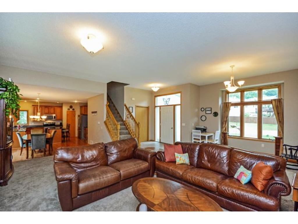 You will love this home the minute you walk in.  Wonderful open floor plan with lots of space.