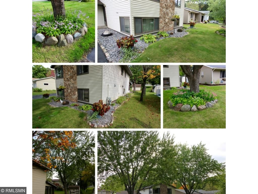 Great landscaping and large mature trees to create an inviting shaded home! This also helps with utility costs!