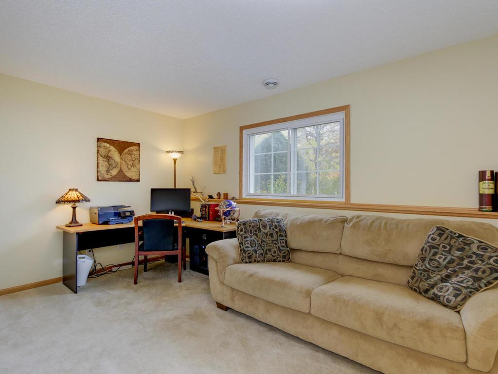 Lower level can be bedroom #4, office, family room - offering versatility, possible to add bathroom