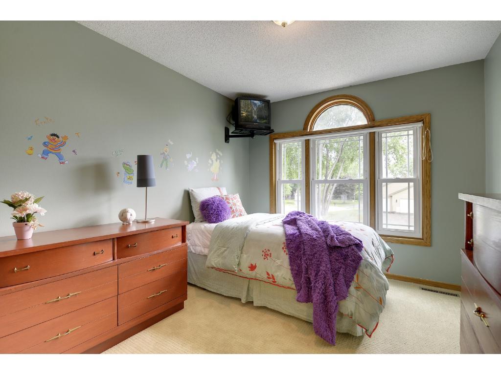 Upper level second bedroom.