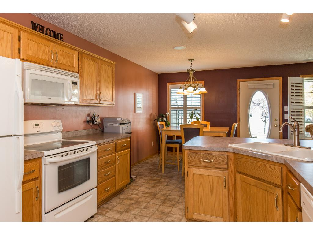 Spacious kitchen with walk-in pantry and plenty of cupboard space