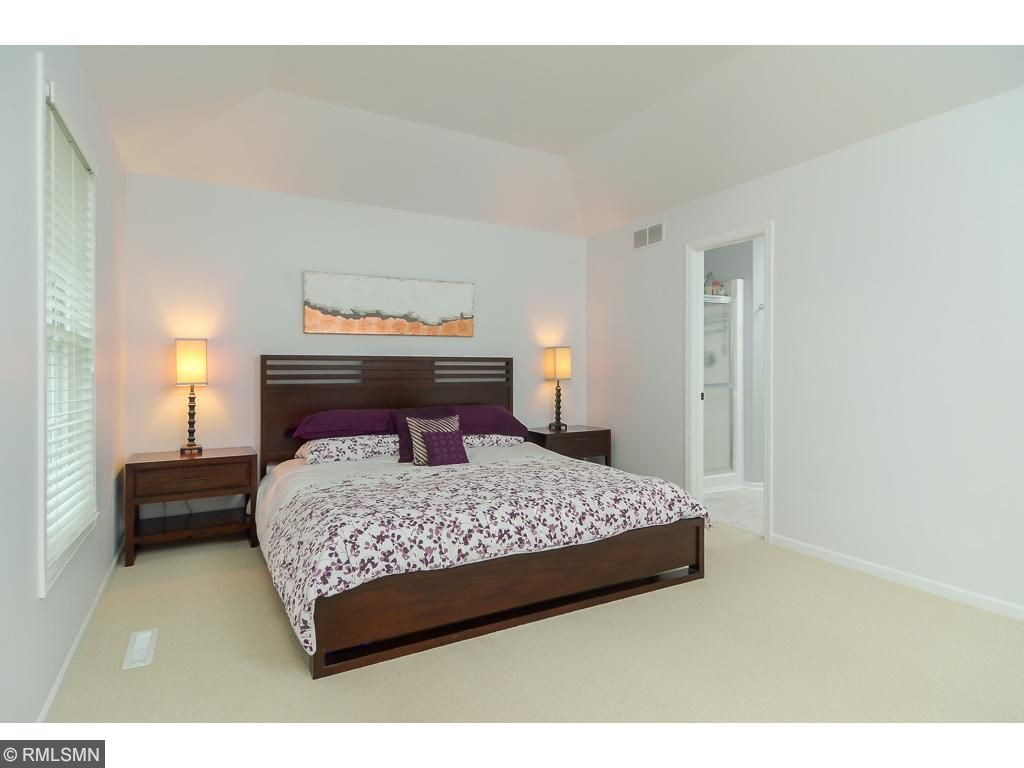 One of 2 master suites, this one is on the main level