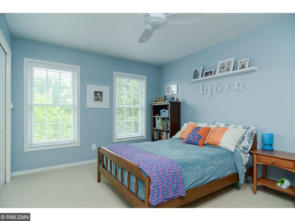 You will enjoy the large upper level bedrooms.