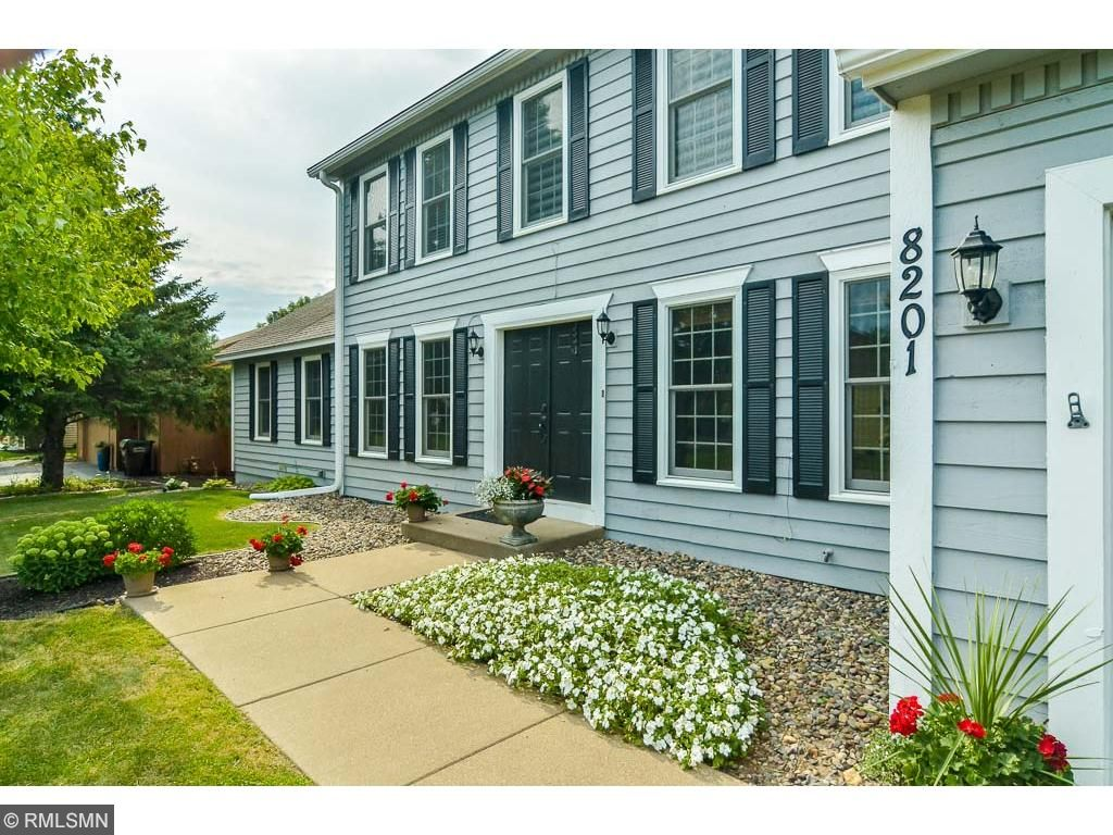 Classic Curb Appeal and Welcoming Entrance