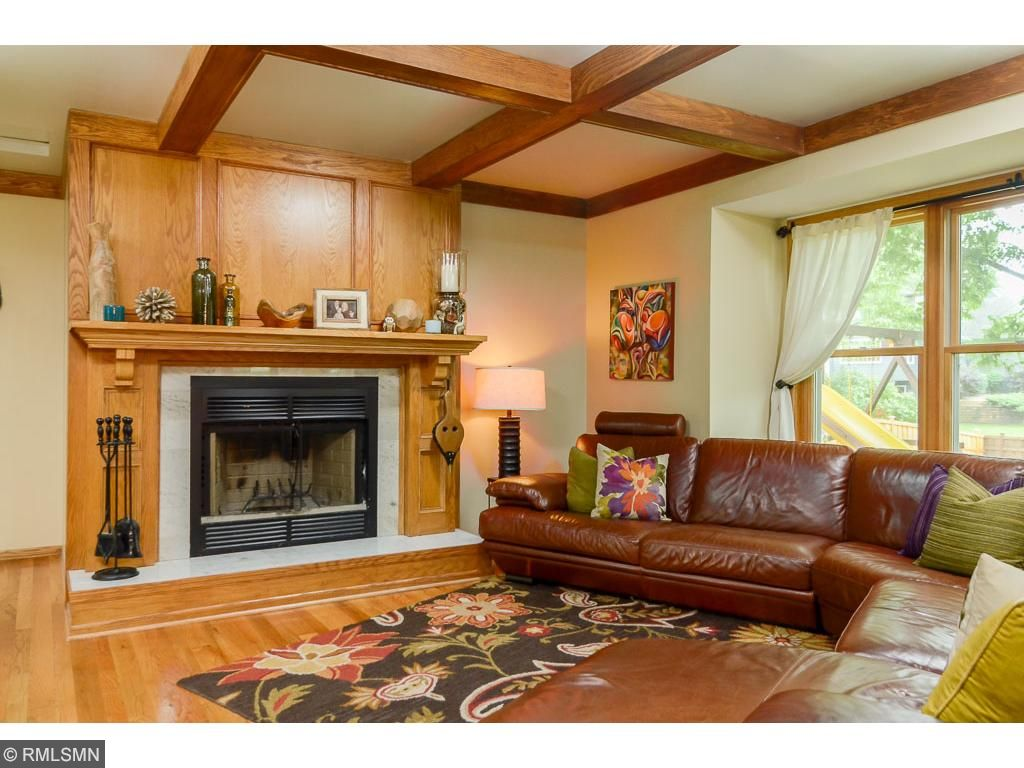 Beautiful hardwood floors and views to the backyard makes this room one you will use daily!