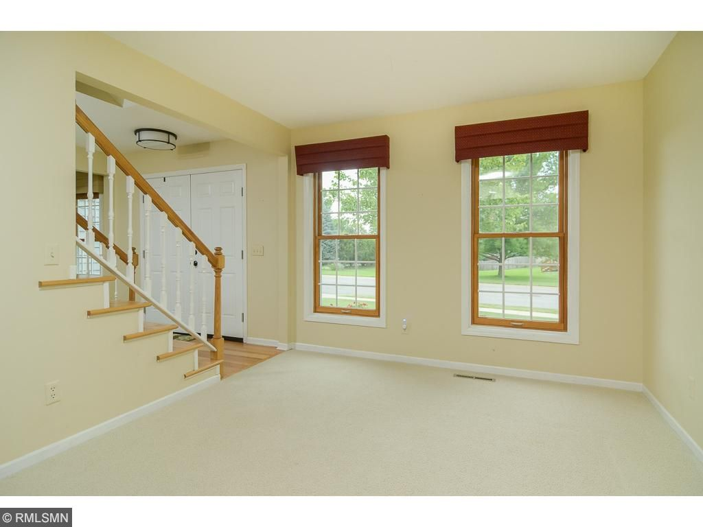 Just off the entry is a room that can be used as a formal living area, music room or office