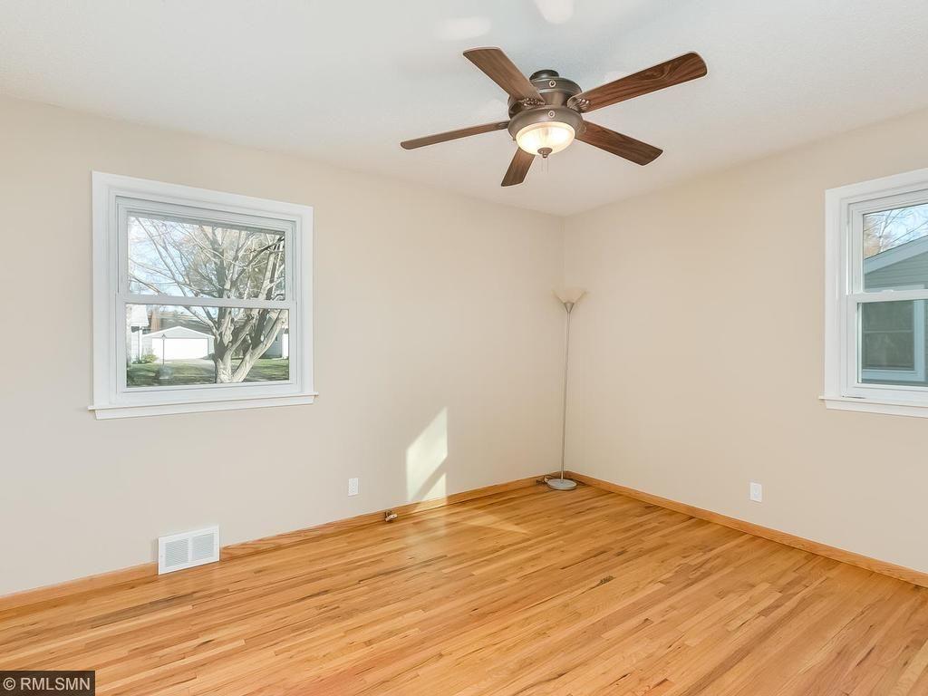 Hardwood floors in all 3 bedrooms