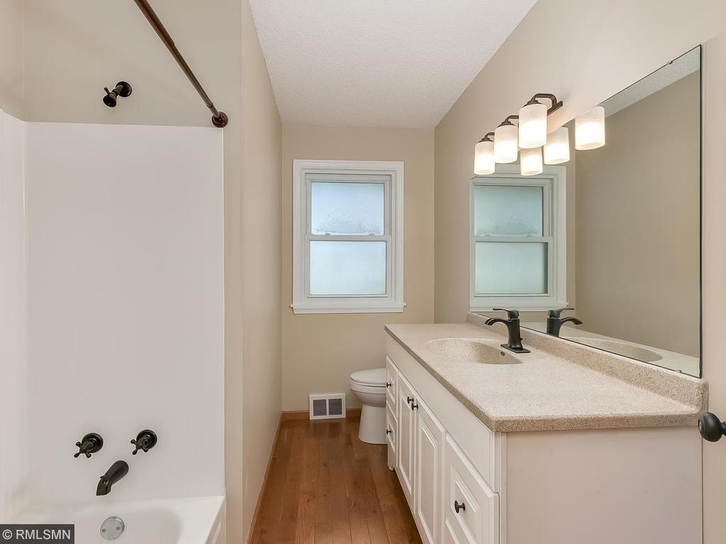 Freshly redone main floor bath
