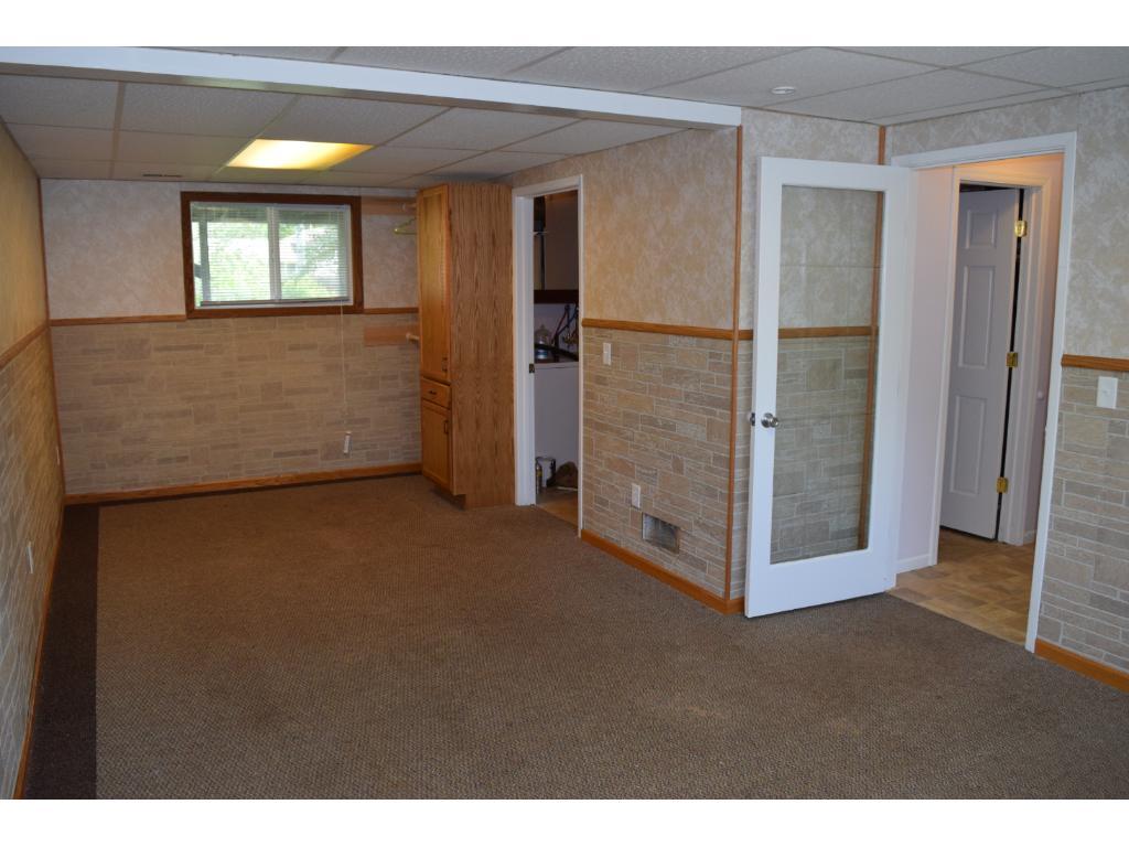 Lower level bedroom #3 or family room