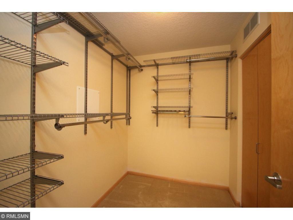 Huge master closet!