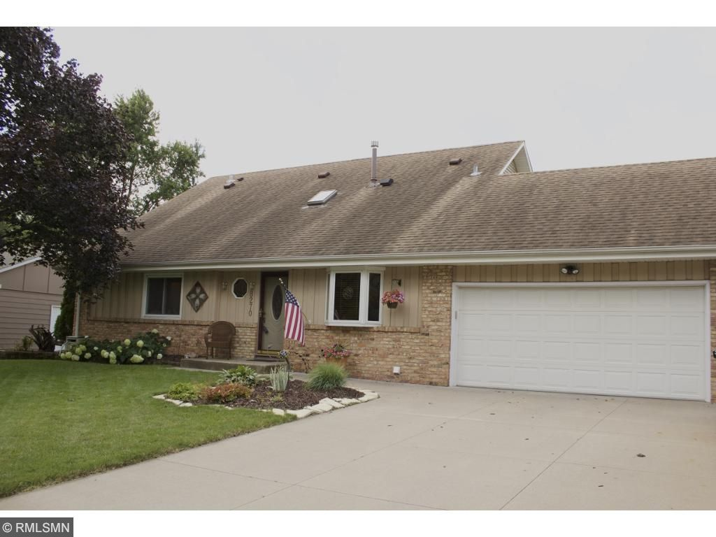 Great curb appeal with over sized concrete driveway for extra parking. Heated and insulated garage with new insulated garage door.