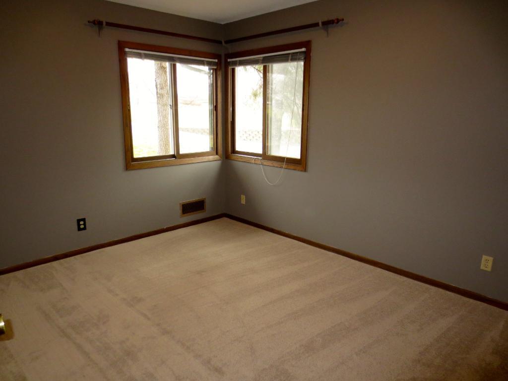 Master bedroom with 1/2 bath.