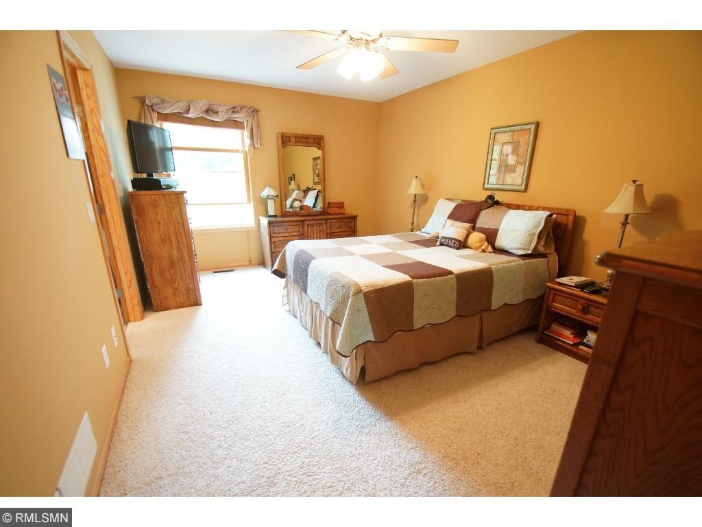 The master bedroom is generous in size.