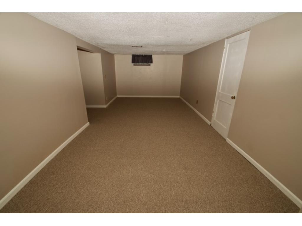 Lower level family room has all new carpet and paint.