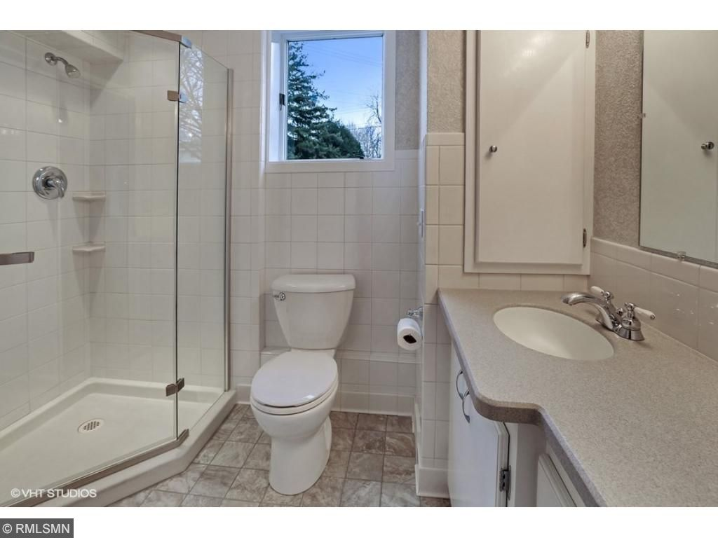 Lower level bathroom is gorgeous!