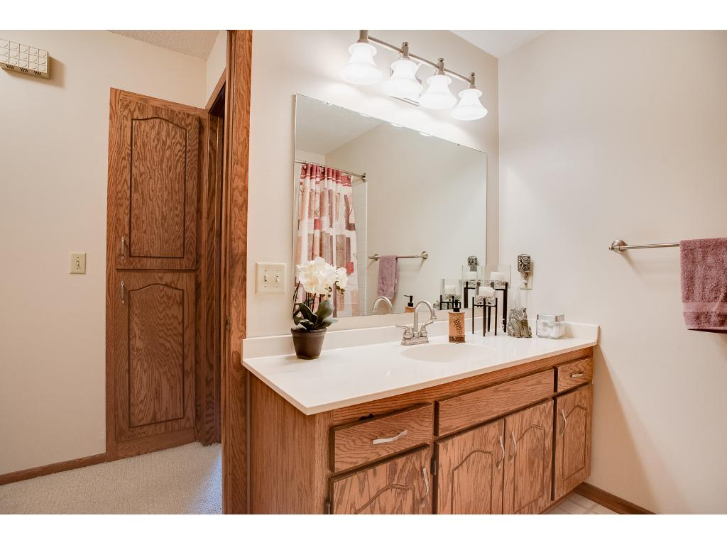 You'll love all the elbow room in the main bath