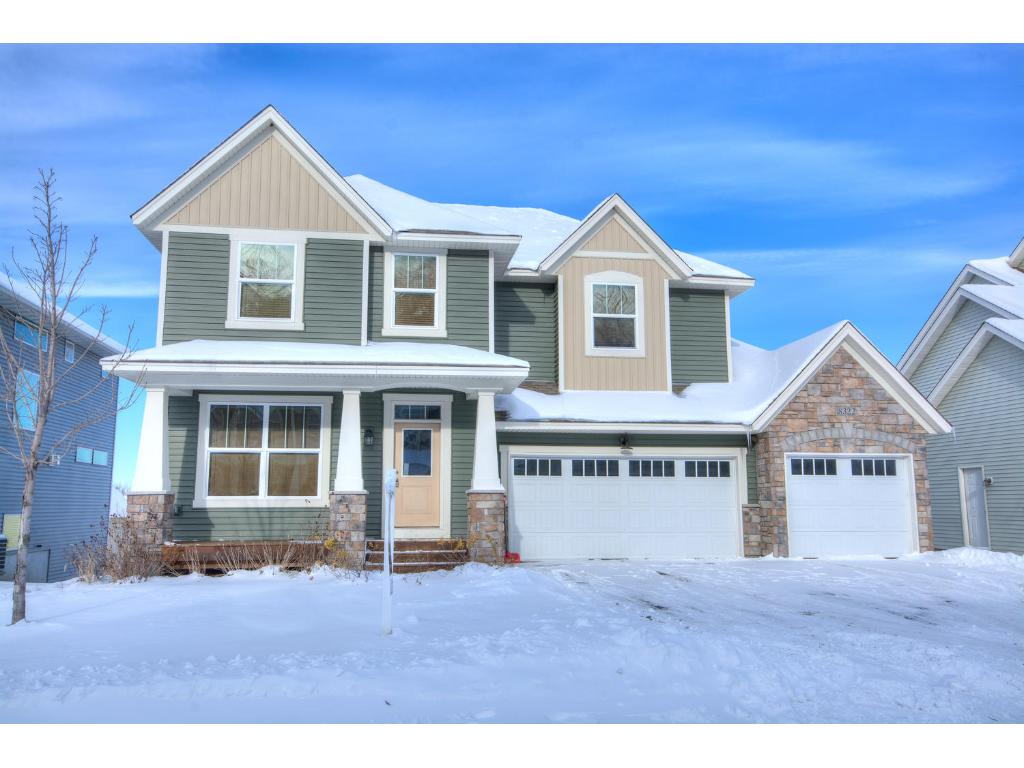Gorgeous kitchen with hardwood floors, granite counter tops and stainless steel appliances!!
