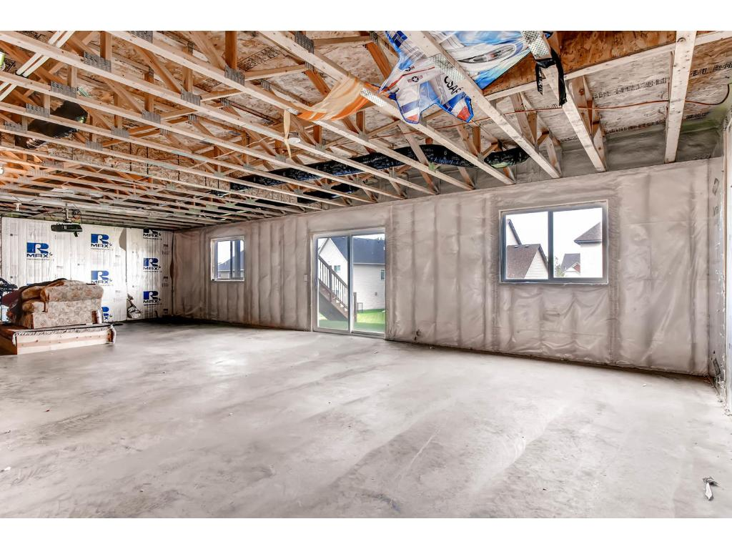 Upper level loft space affords tremendous versatility - oversized 2nd above grade living space, play area, or oversized work space