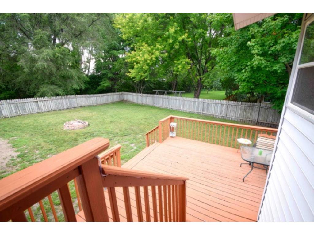 Large fenced in back yard. Plenty of room to add a pool!