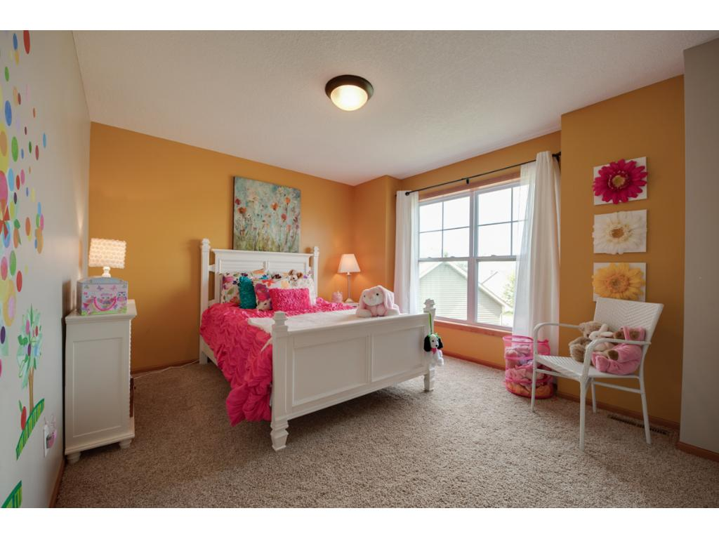 Another bright and spacious bedroom!