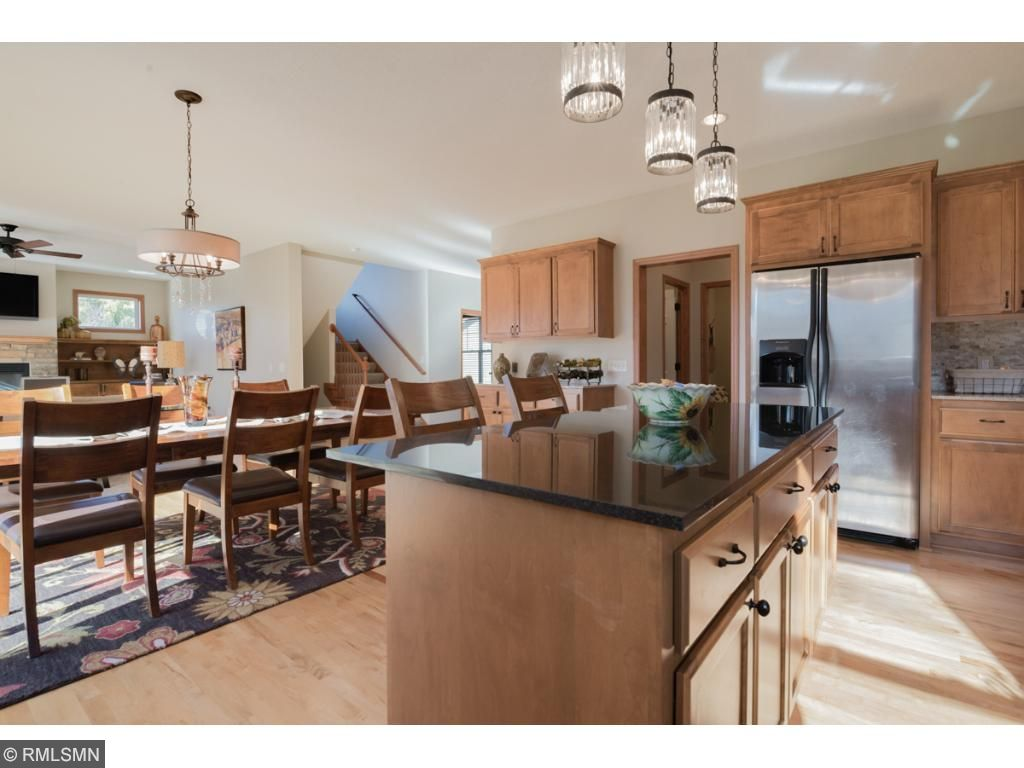 Kitchen boasting large Island, Buffet Area, Spacious Dining easily accommodating setting for 12!