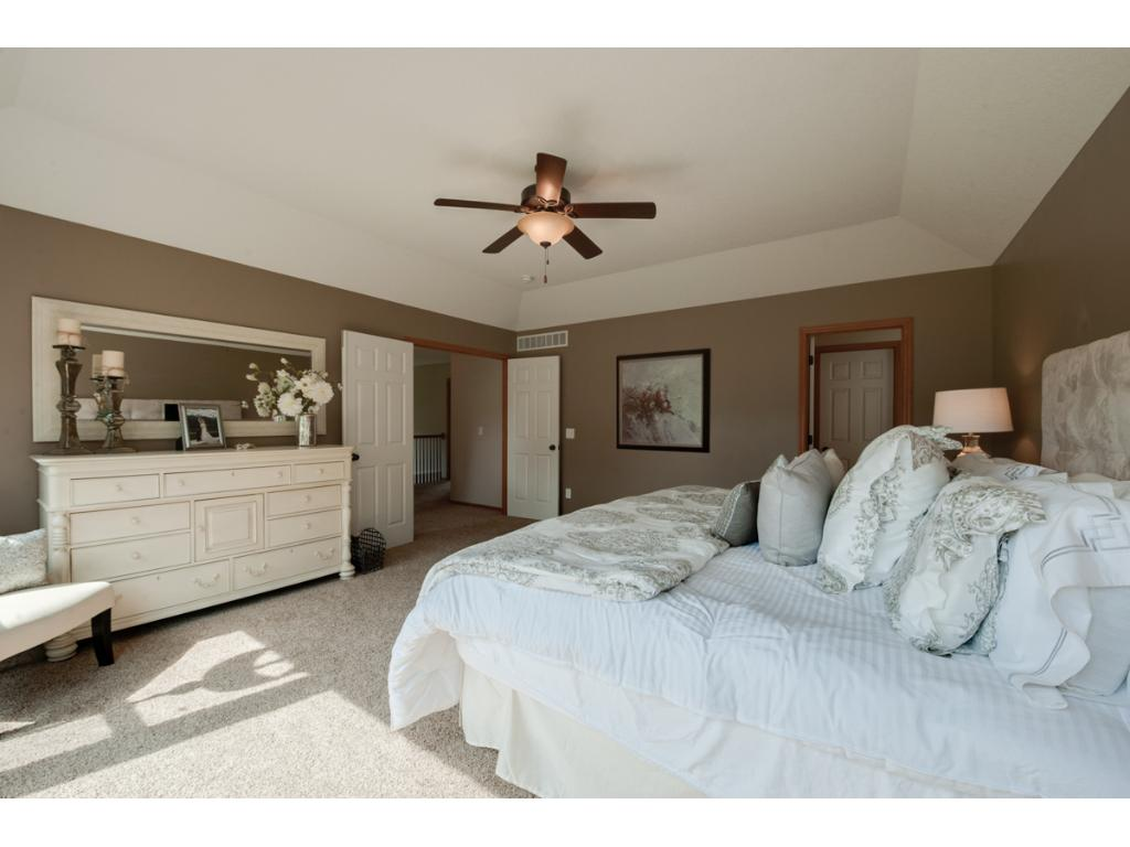 Master Suite has new bath and enormous walk in closet!
