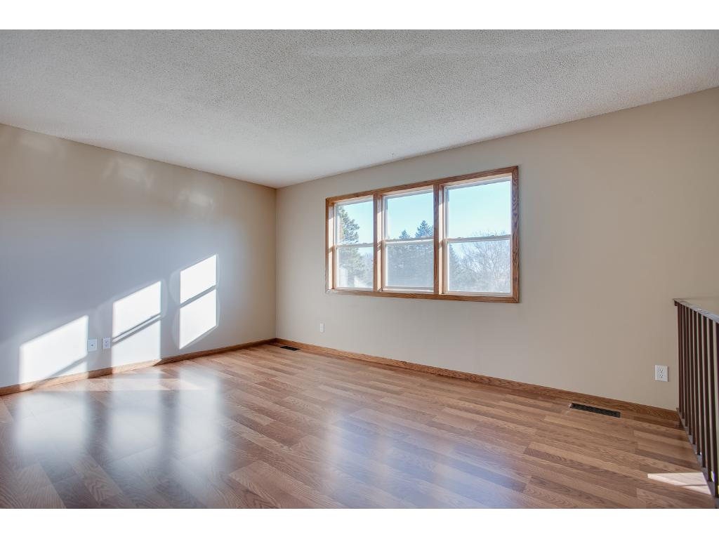 This home offers an open floor plan and the living room has new oak trim and wood laminate flooring.