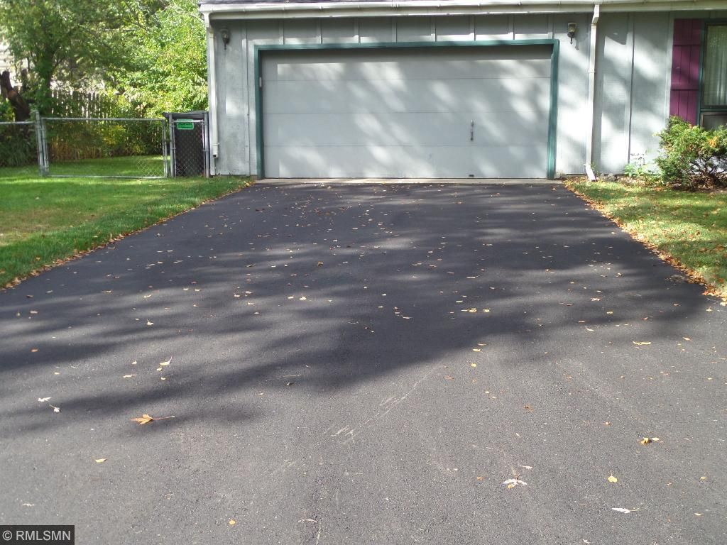 2 car attached garage with new driveway!