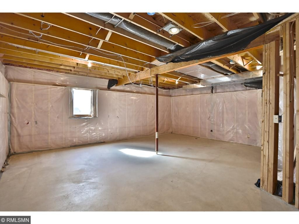 Large basement can be used for workout room or play area for kidlets.  Rough in for 4th bathroom