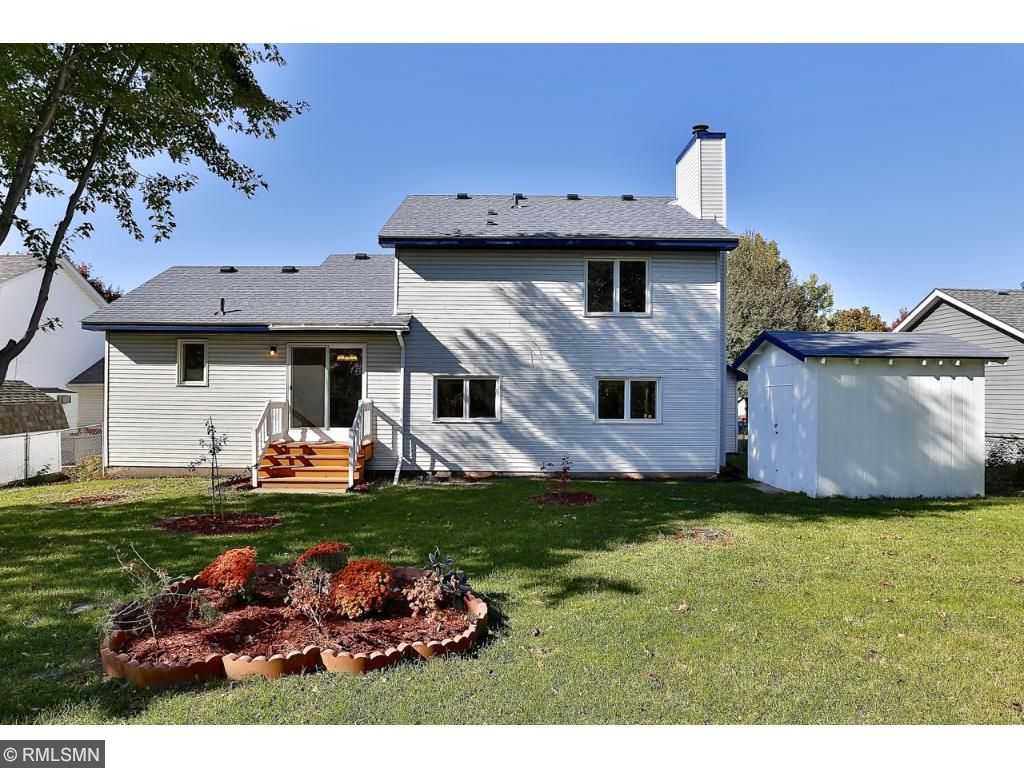 Fabulous Large FENCED in backyard with storage shed.
