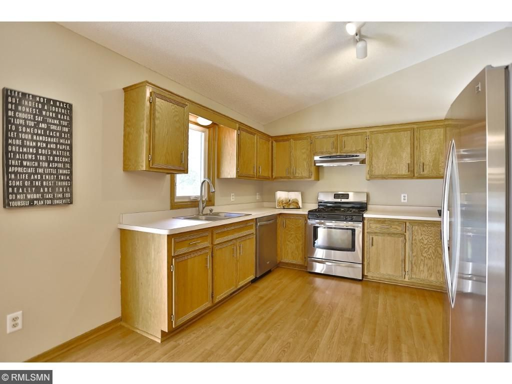 Generous sized kitchen complete with updated sleek stainless steel appliances.