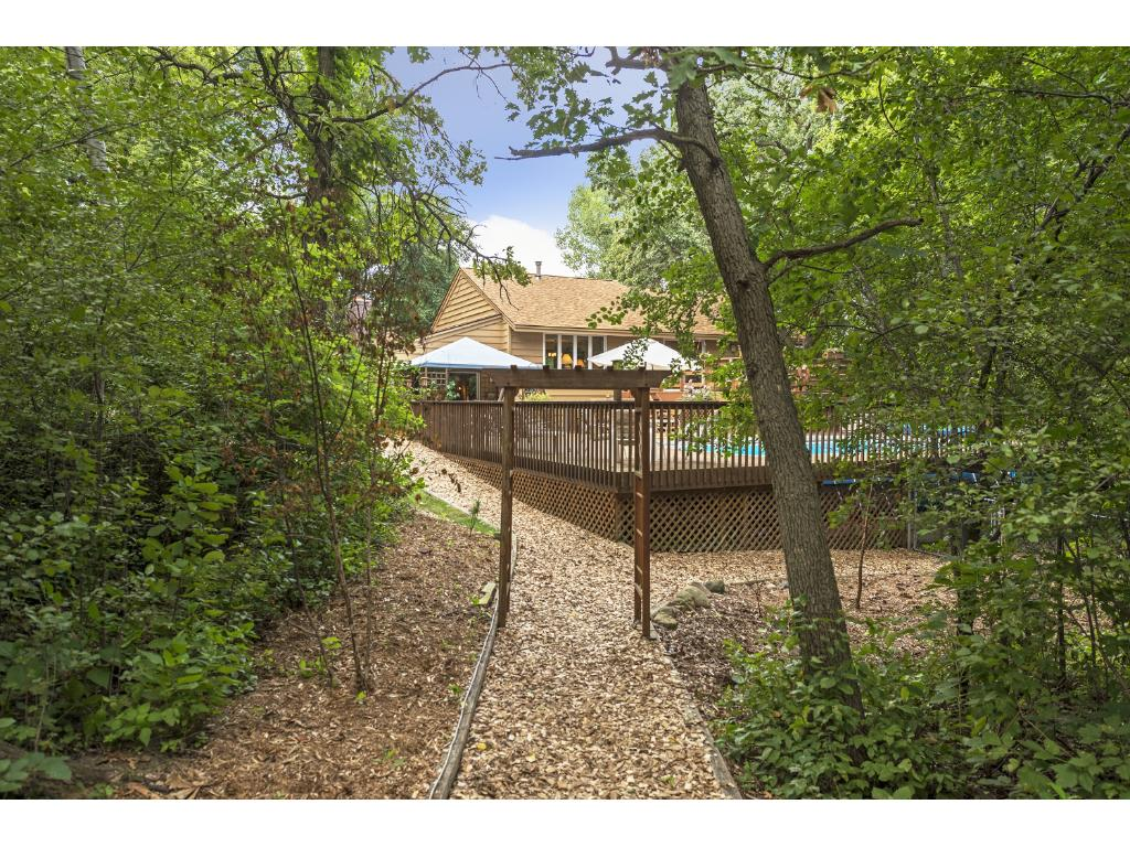 This 1.75 acres are heavily wooded with lots of wild life.