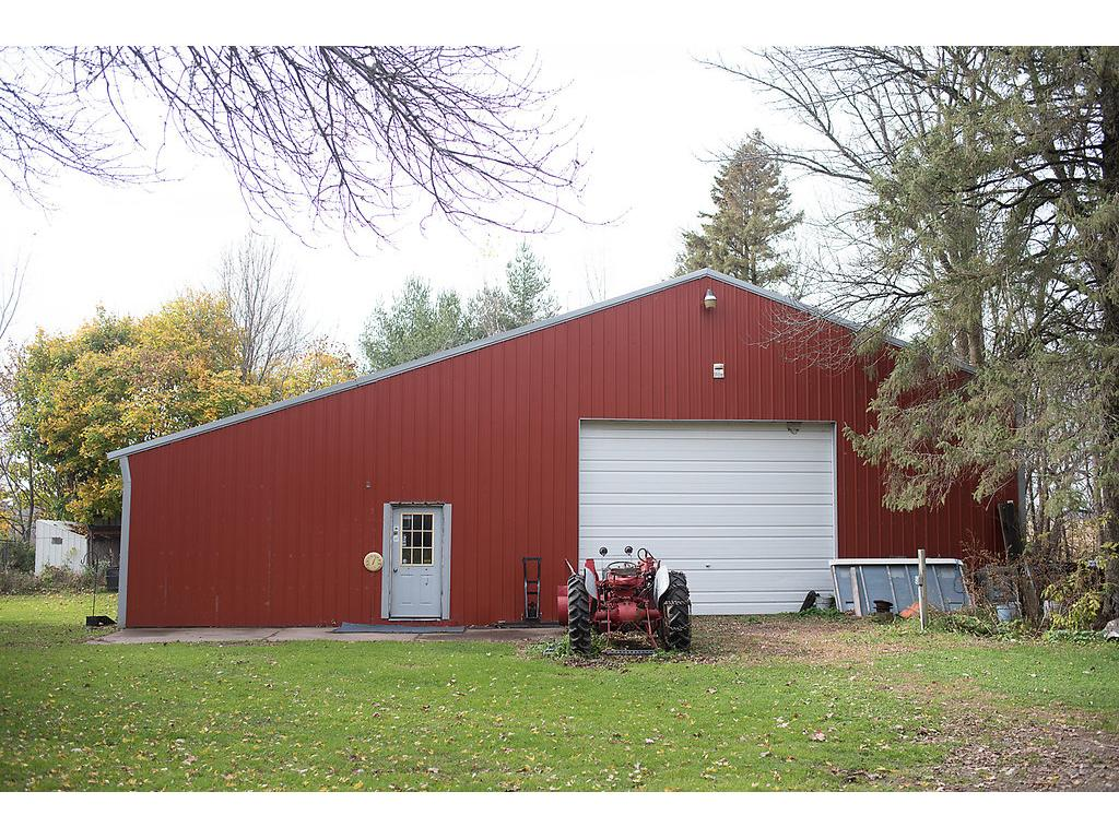 60X40 insulated and heated outbuilding - space for toys - woodshop and retail space and/or showroom, lean to, multiple overhead doors and more - phenomenal outbuilding!