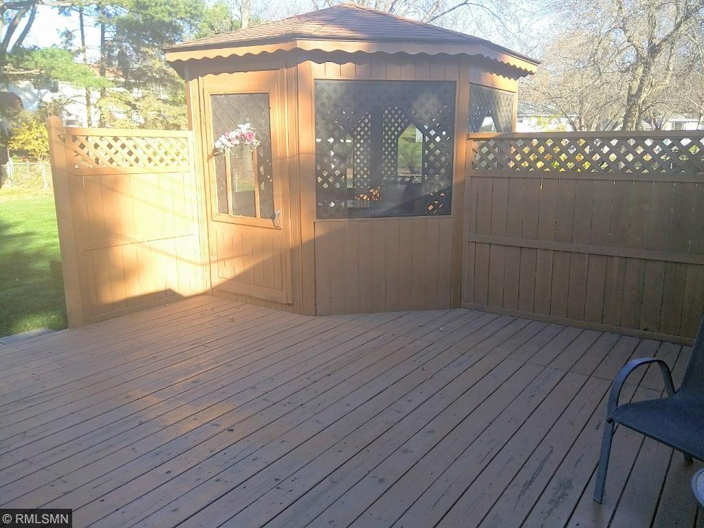 Oversized deck