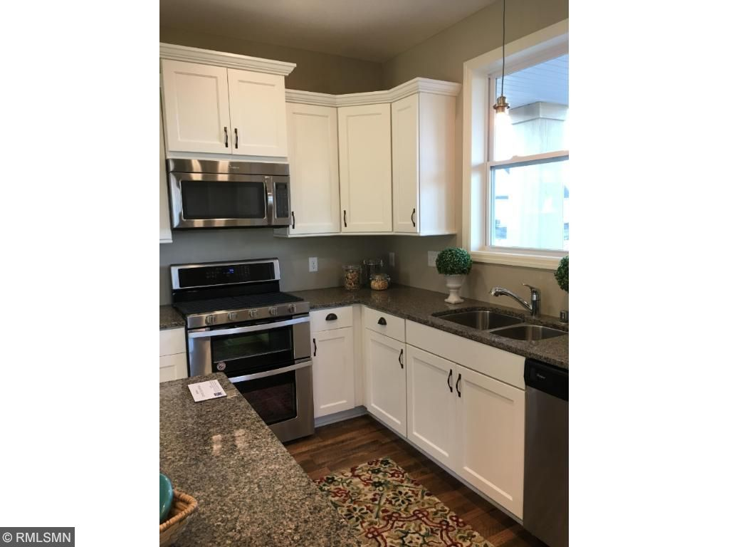 White Cabinets and Granite Counter Tops