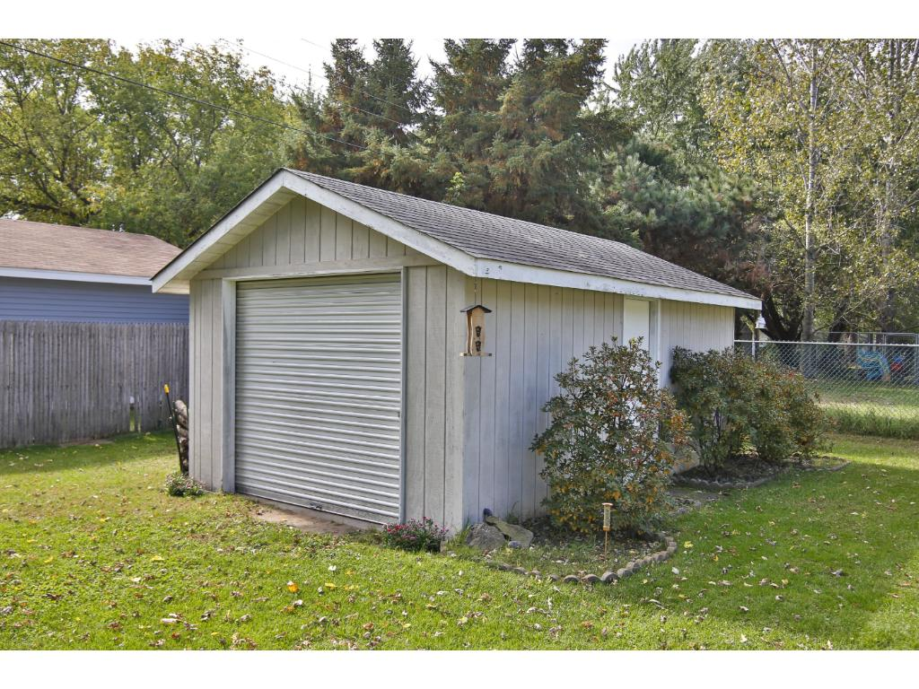 Additional storage shed/garage for your 'toys'