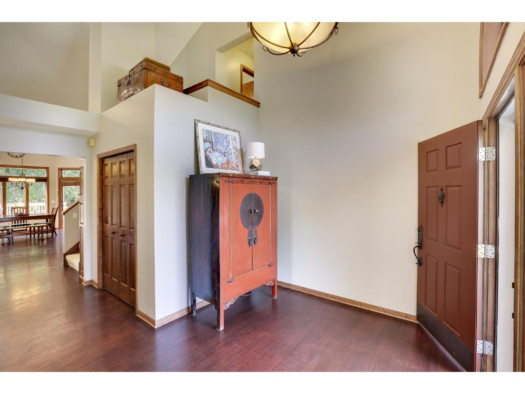 Bright and open foyer